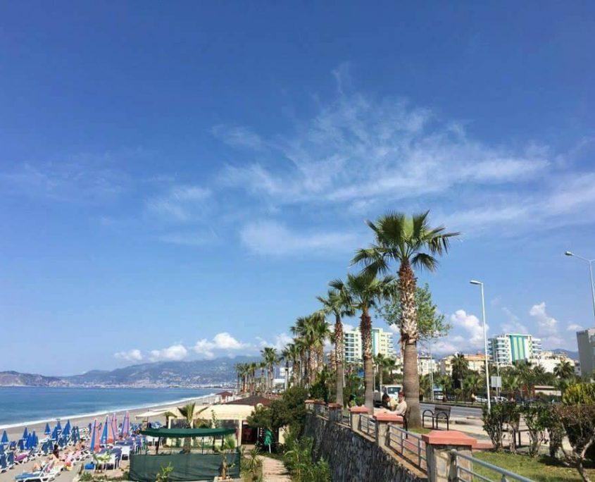 Prachtige stranden in Alanya en Side